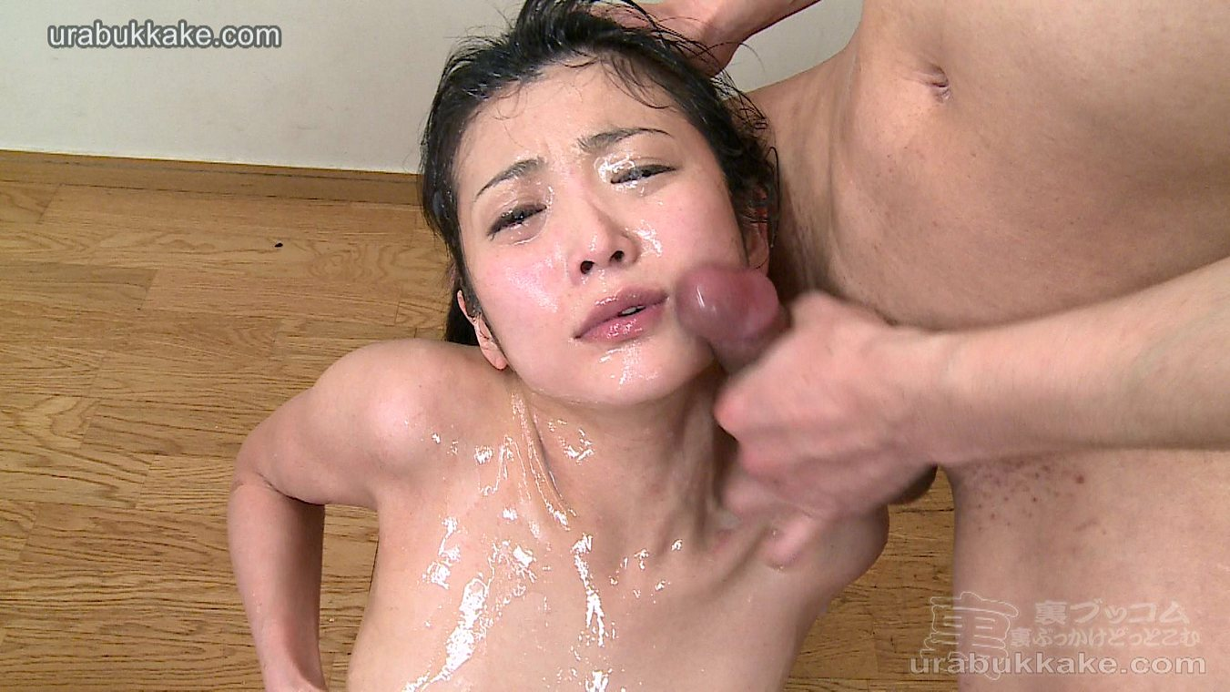 MPX Girls -> Ura Bukkake : Asian men loads cum on innocent girl face